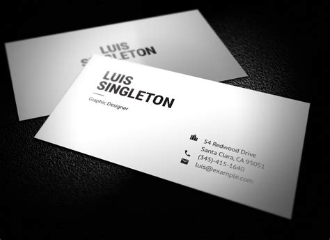 3 5x2 business card template psd clean and minimal business card template on behance