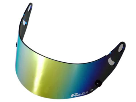 Ic Duct3 Smoke Arai Helmet monocolle visor sticker chrome 1 260yen monocolle