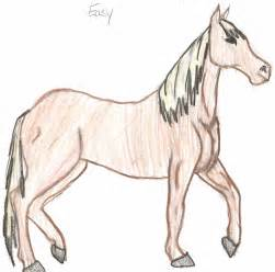 Easy horse drawings easy the horse by cooki