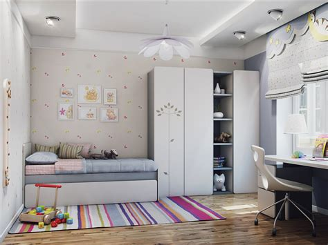 Girl Bedroom Decoration Ideas added with Simple Furniture