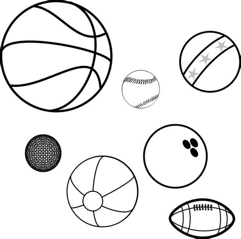free vector graphic balls sports balls game balls