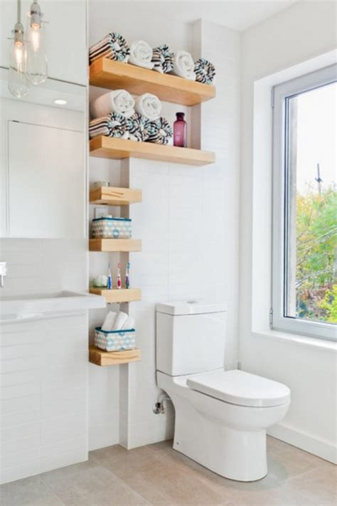 decorating ideas for bathroom shelves 15 amazing and smart storage ideas that will help you