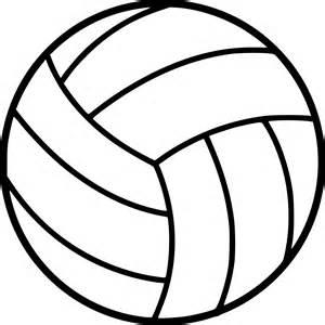 coloriage ballon volleyball 224 imprimer