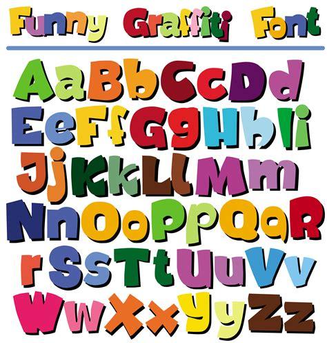 printable pop up letters cartoon pop letters vector free vector 4vector