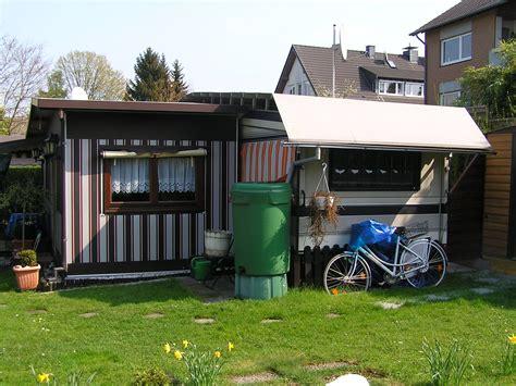 herd maße fester stellplatz mit wohnwagen in am maas in