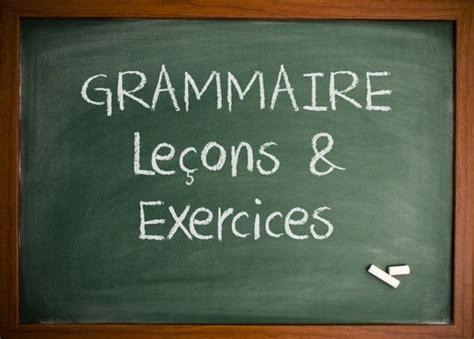 grammaire savoir delf niveaux 8853012439 le 231 ons exercices de grammaire en fran 231 ais fle