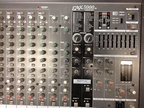 Power Mixer Yamaha Emx5000 yamaha emx 5000 20 20 channel powered mixer with road