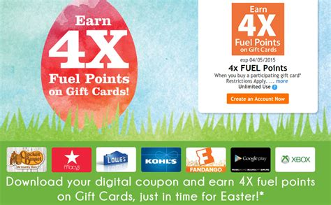 Frys Gift Cards - 4x fuel points on gift cards at kroger fry s doctor of credit