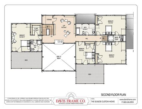 davis homes floor plans seaside timber frame house plans and layouts from davis