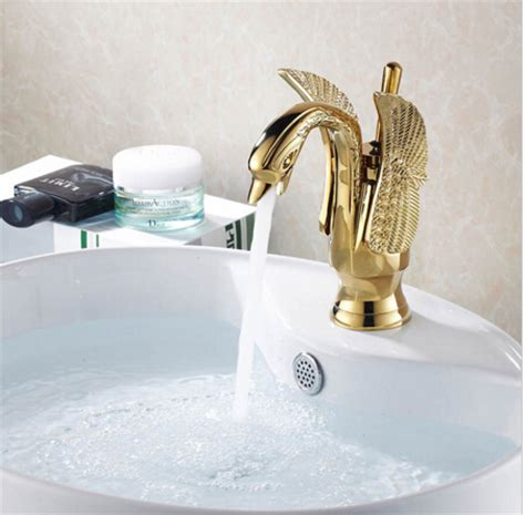 are brass bathroom fixtures out of style new arrivals luxury brass swan style gold faucet bath