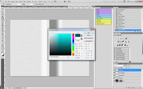 How To Make Layout Design In Photoshop | create a still magazine layout in photoshop cs5 youtube