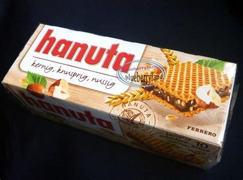 ferrero hanuta wafers filled with hazelnut 10 pcs in