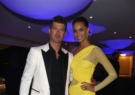 april love geary robin thicke robin thicke shoots down engagement rumors extratv com