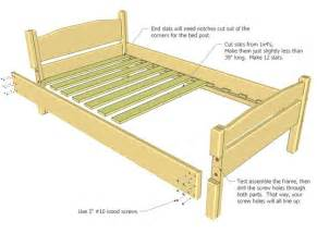 wood bed frames plans pdf plans wood table plans free 187 freepdfplans downloadwoodplans