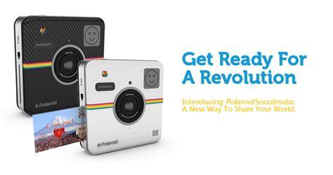 Kertas Kamera Polaroid Polaroid Hadir Dengan Socialmatic Kamera Digital Retro