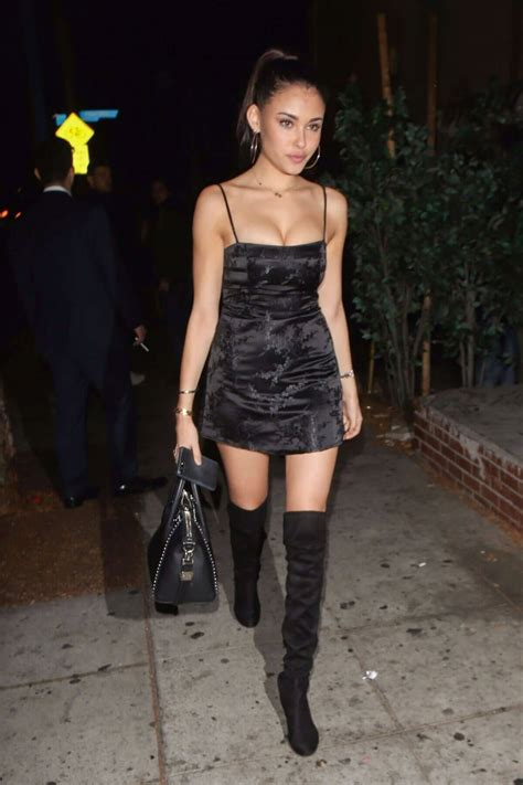 madison beer movie madison beer wears short dress night out in west hollywood