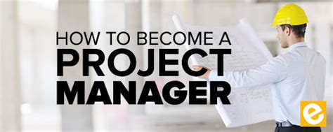 How To Become A Software Manager With An Mba how to become a project manager in construction esub
