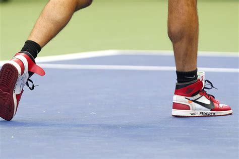 Offwhite I M His Sneaker Cde roger federer played tennis in white x nike air
