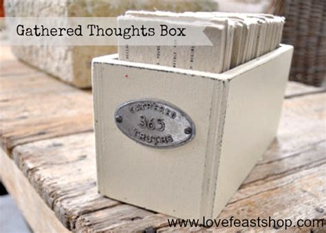 decorative boxes love how the finial repeats the shape gathered thoughts party giveaway lovefeast table