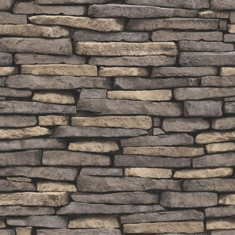 new luxury distinctive brick wall stone rock slate effect