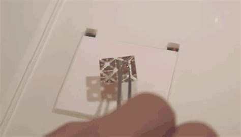 Self Folding Paper - this amazing mini origami robot walks self folds swims
