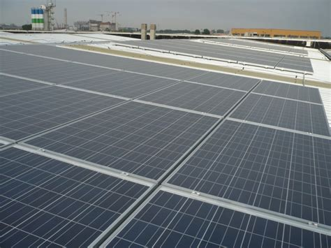 20 kw commercial solar photovoltaic system in parma italy