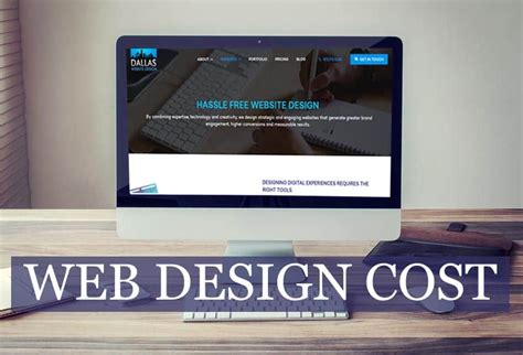 website layout design cost how much should a website design cost in 2018