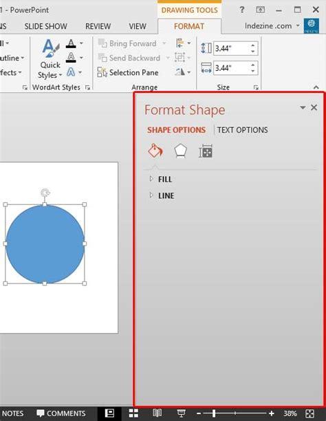 format audio untuk powerpoint new format task panes in powerpoint 2013 for windows