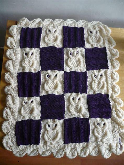 owl blanket knitting pattern the world s catalog of ideas