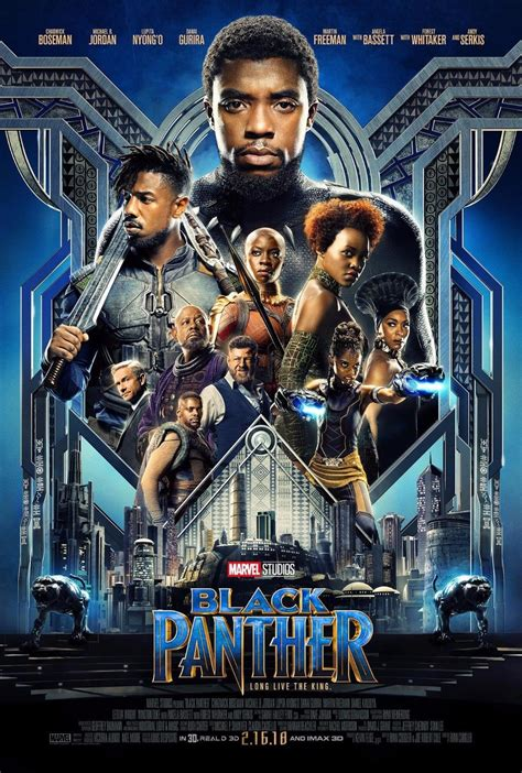 film marvel 2018 black panther movie poster 2018 13x20 quot 27x40 quot 32x48