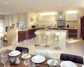 open plan kitchen diner ideas open plan lighting design ideas photos inspiration