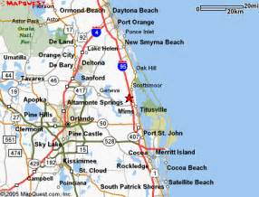 where is titusville florida on a map map titusville