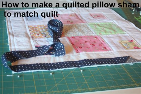 How To Make A Quilted Pillow Sham by A Quilted Sham Tutorial Avery Sewing