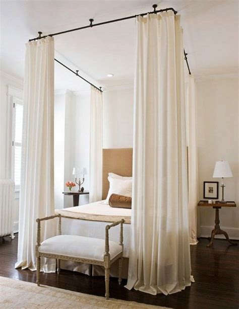 curtain rod canopy 25 best ideas about curtain rod canopy on pinterest