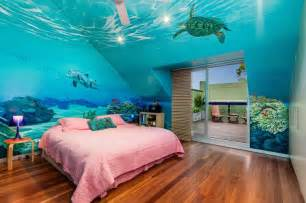 Under the sea bedroom walls how cool for z