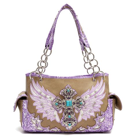 Bags In Turqoise And Violet by Icw8469 Turquoise Western Style Handbags Fashion World