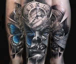 mask tattoo by benjamin laukis no 233