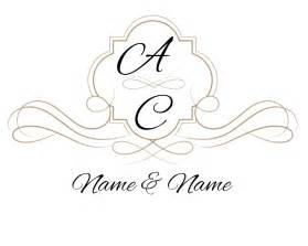 Monogram Template by Wedding Monograms Templates Www Imgkid The Image