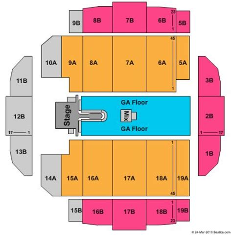 tacoma dome seating map tacoma dome tickets and tacoma dome seating chart buy