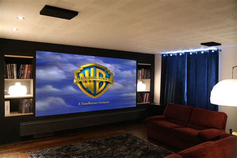 home theater screen wall design screen excellence home cinema acoustic transparent screens