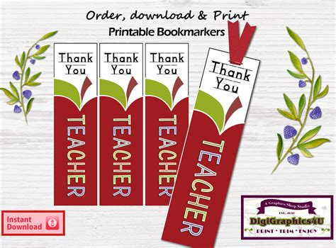 printable bookmarks for teacher appreciation teachers appreciation bookmarks bookmarkers hanging tags