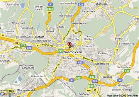 map of saarbrucken germany map of top hotel la residence saarbrucken