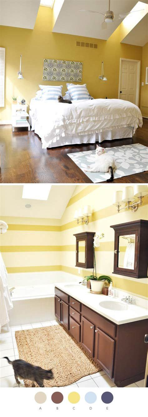 bathroom blue brown color scheme modern bathroom navy yellow blue and tan is one of my favorite color