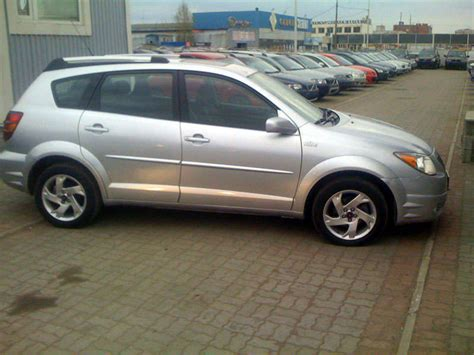service manual download car manuals 2005 pontiac vibe transmission control service manual