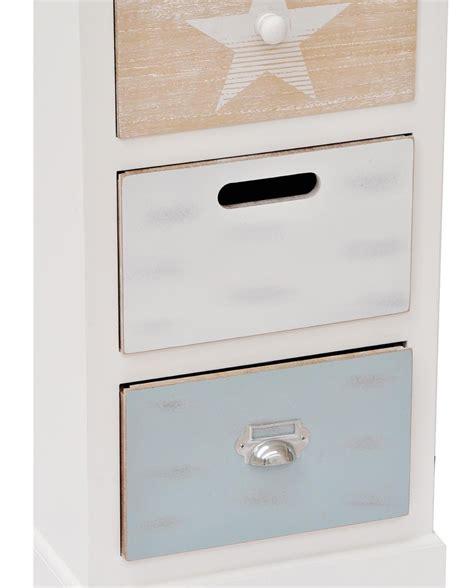 mobiletto con cassetti mobiletto portatutto in legno con 5 cassetti mobilia