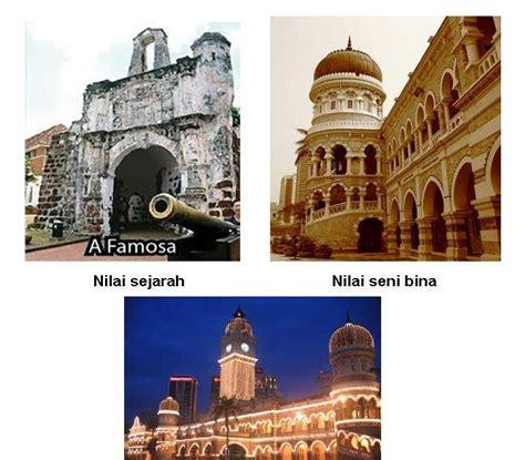 Novel Malaysia Tinta tinta kepentingan pemuliharaan bangunan bangunan