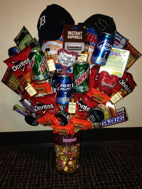 valentines day gift baskets him 1000 images about boyfriend gift ideas on