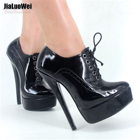 new 18cm heel fettish high heel womens pumps high top shoe