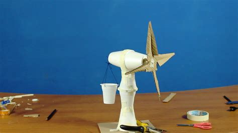 How To Make A Paper Wind Turbine - how to make windmill classroom on activity project