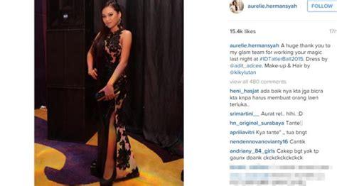 Dress Aurel Murah aurel hermansyah instagram terbaru 2015